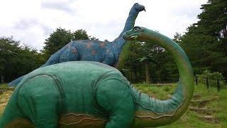 【長野県・長野市】茶臼山恐竜公園で恐竜がいっぱい