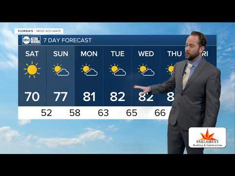 Florida's Most Accurate Forecast With Jason On Saturday, February 8, 2020
