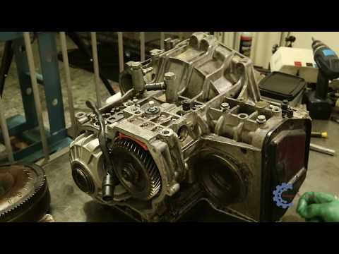 Desmontagem completa e Reparo do cambio 01M Audi A3 - 01M transmission repair