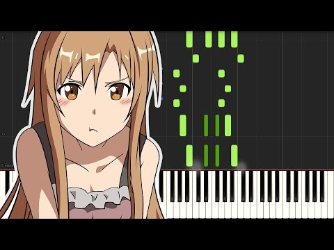 Sword Art Online: Ordinal Scale - ED: Catch The Moment ( Piano Tutorial )