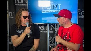 Candlebox frontman on hate from Courtney Love; Seattle grunge scene at Pointfest