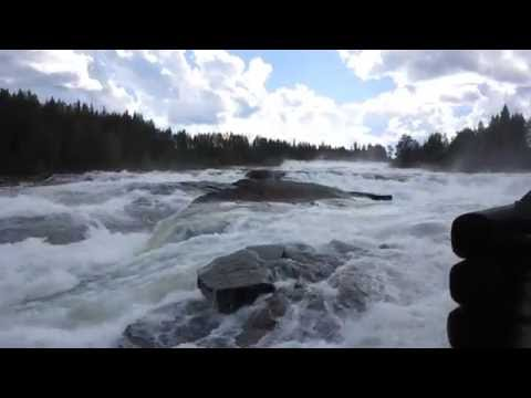 Storforsen Waterfall - Sweden