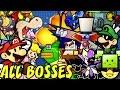 Super Paper Mario All Bosses No Damage mp3