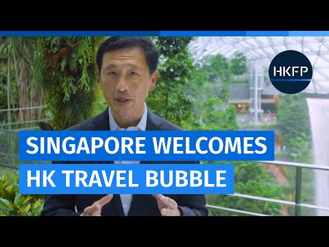 Covid-19: Singapore transport chief welcomes launch of Hong Kong-Singapore travel bubble
