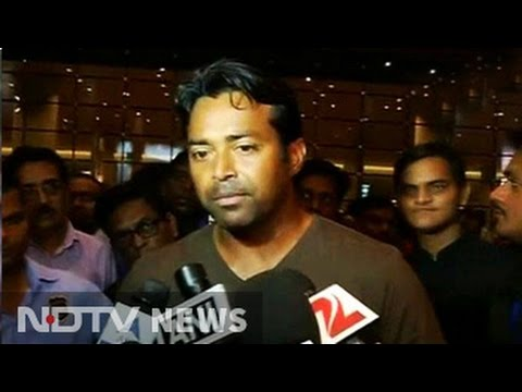 Leander Paes returns home after US open triumph, looks forward to Davis Cup