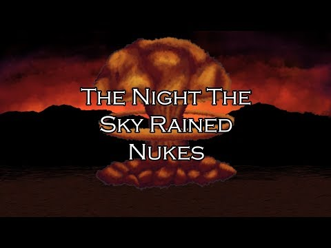 Gürschach - The Night The Sky Rained Nukes [Official Lyric Video]