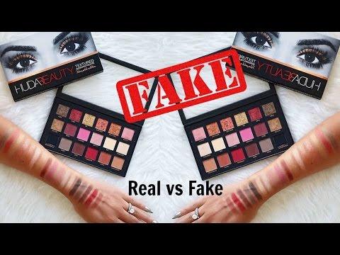 Ebay Fake 7 Huda Beauty Texture Palette Youtube