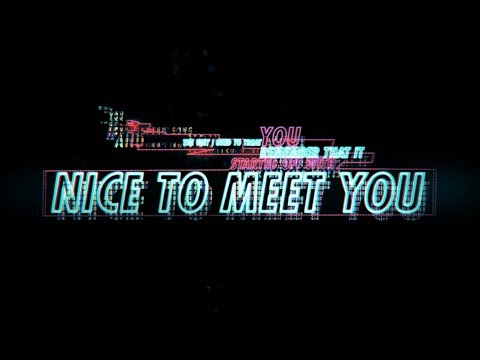 Seeb - Nice To Meet You (Official Lyric Video)
