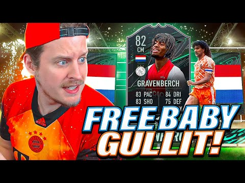 FREE BABY GULLIT?! 82 MILESTONES GRAVENBERCH PLAYER REVIEW! FIFA 21 Ultimate Team