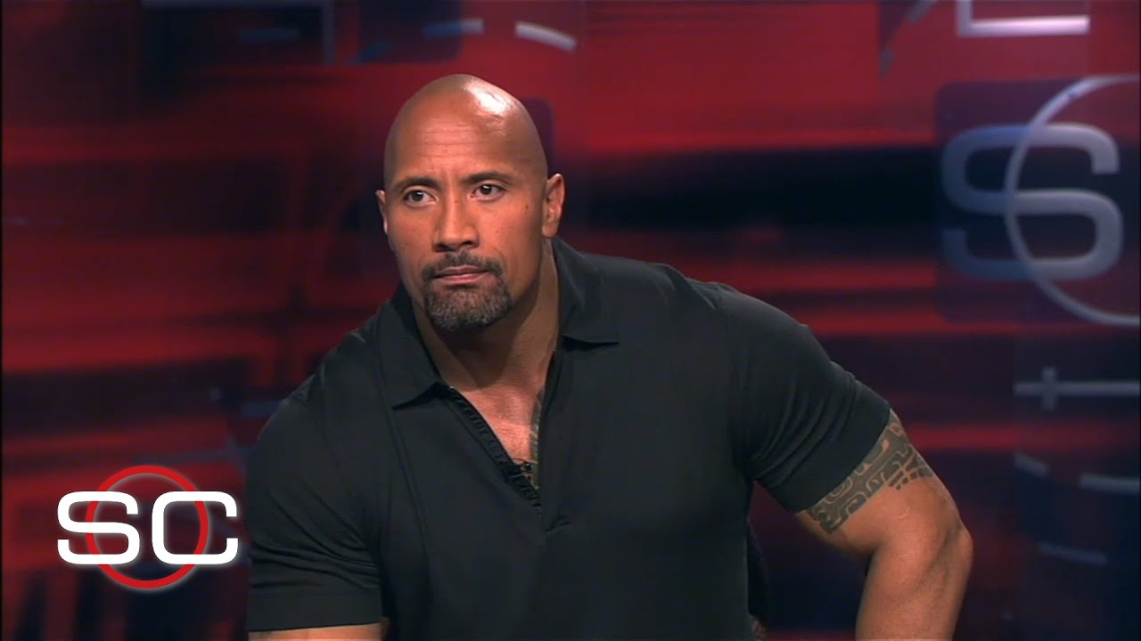 The Rock answers WWE, Miami questions, thumb wrestles John Buccigross (2012) | SportsCenter