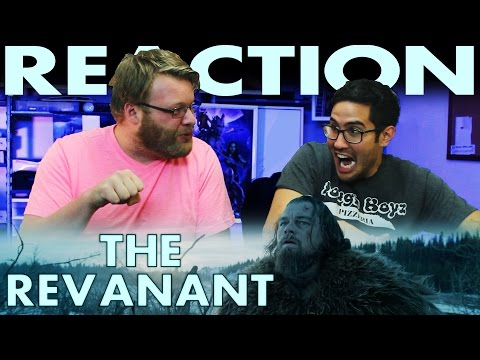 The Revenant Trailer REACTION!! Leonardo DiCaprio Movie poster