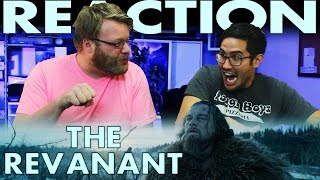The Revenant Trailer REACTION!! Leonardo DiCaprio Movie