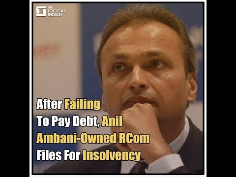 After Failing To Pay Debt, Anil Ambani-Owned RCom Files For Insolvency
