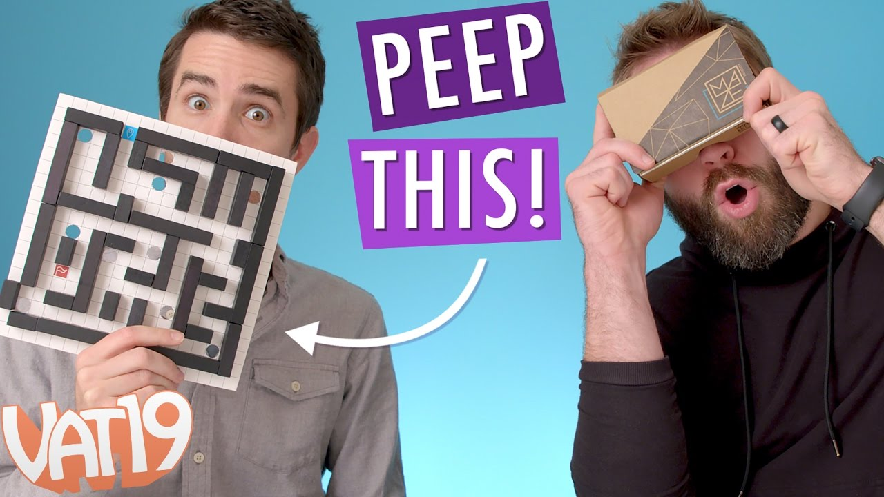 Peep This: Design Your Own VR Marble Maze | Ep. #21