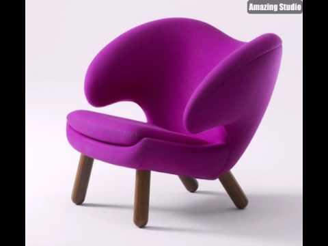 Coole Designer Mobel Lila Sessel Youtube