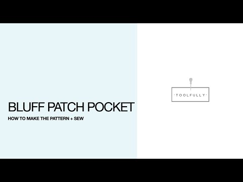 Bluff Patch Pocket Pattern Amp Sewing Youtube