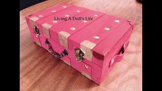 How To Make Kit's Dresser Trunk (storage)