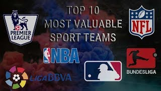 TOP 10 Most valuable SPORT TEAMS in the world - Ranking 2019
