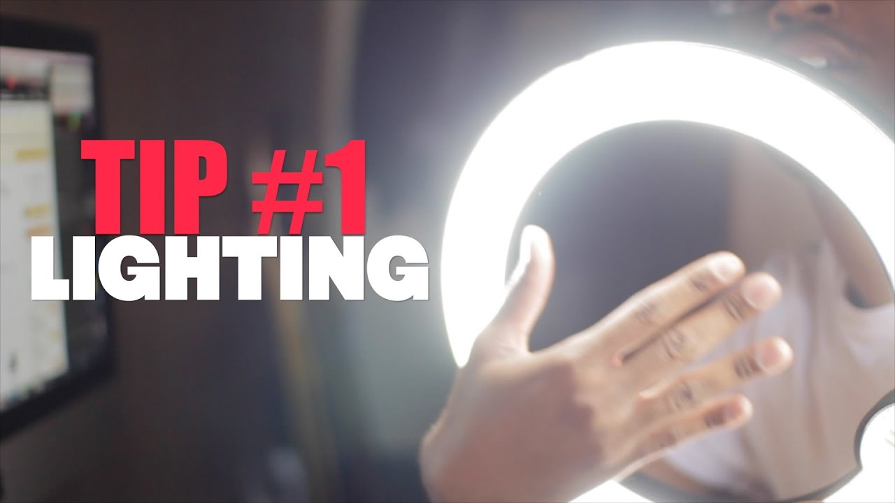 Good Lighting how to get the best hd quality video (lighting)(use captions