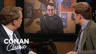 "The First Satellite TV Channel Sketch On ""Late Night With Conan O'Brien"""