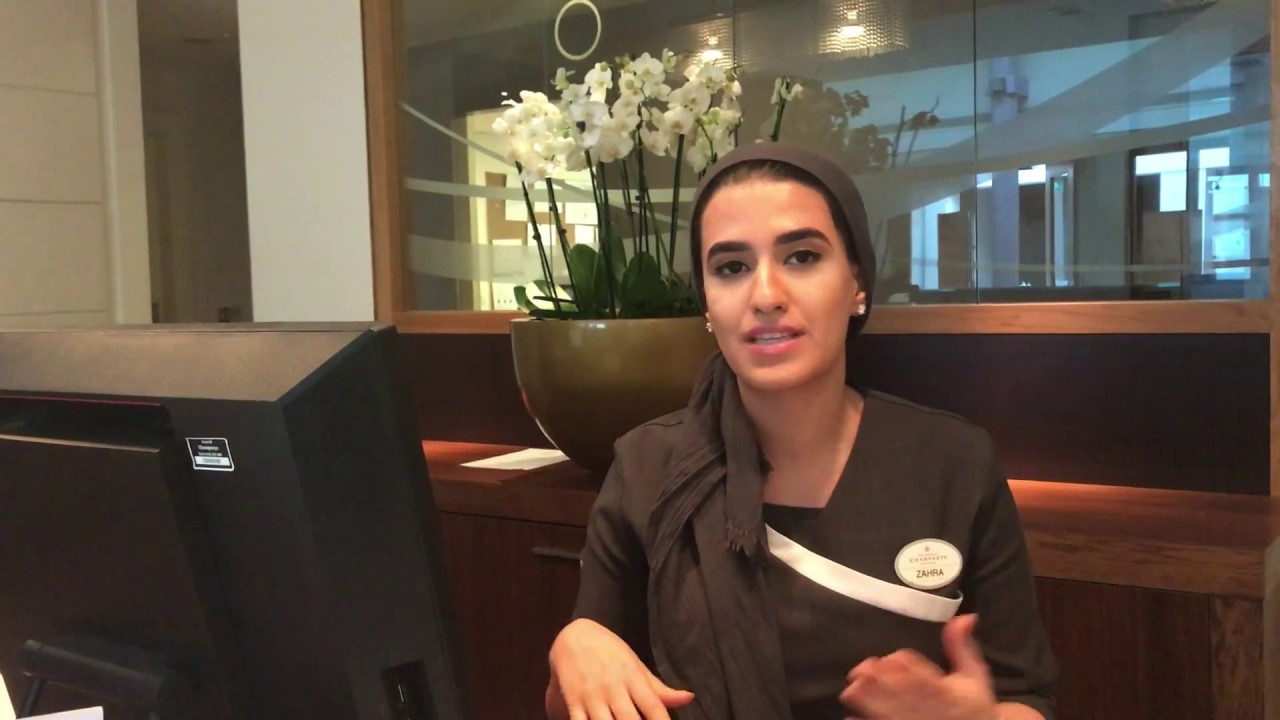 Zahra Champneys Spa Receptionist From Channel 4s The Job Interview