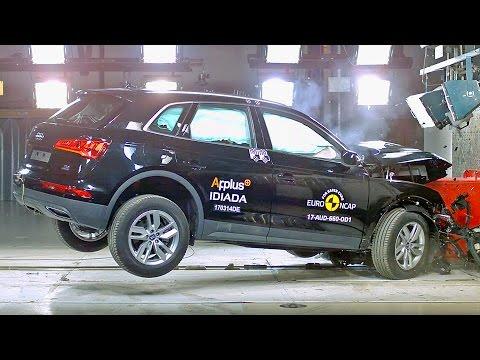 Audi Q5 (2017) Crash Tests [YOUCAR]