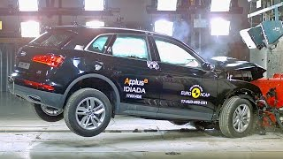 Audi Q5 (2017) Crash Tests [YOUCAR]