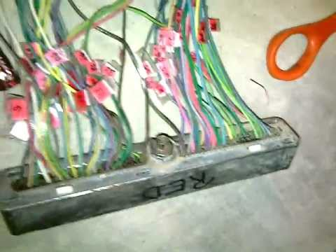 hqdefault part 2 lsx 5 3l 4l60e wiring harness ls1 vortec youtube lm7 stand alone wiring harness at bakdesigns.co