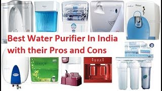 Best Water Purifier In India || Top Water Purifiers in India
