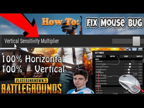 how to change pubg sensitivity in config