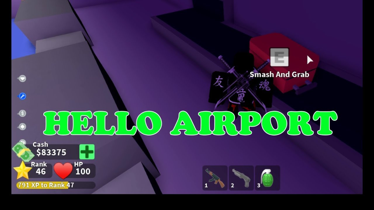 Roblox Mad City: AIRPORT With Free Money | Let's Play roblox with Ben Toys  and Games