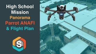 Cane Ridge High Mission using Flight Plan - Parrot ANAFI