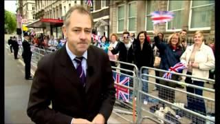 Evening News after Diamond Jubilee Thanksgiving Service - June 2012