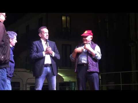 Mudu' - Uccio e le interviste al pubblico di Ricigliano (SA)