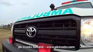 pktrucks TOYOTA Land Cruiser HZJ78R 4x4 fully equipped ambulance - RHD - NEW