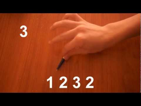 Pen Tapping - 1 2 3 2 - #1