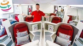 Große Klasse! Hongkong Airlines Business Class A350 auf Langstrecke | GlobalTraveler.TV