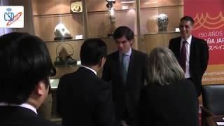 Firma del acuerdo entre la Federación española de bádminton y la prefectura de Shizuoka (Japón)