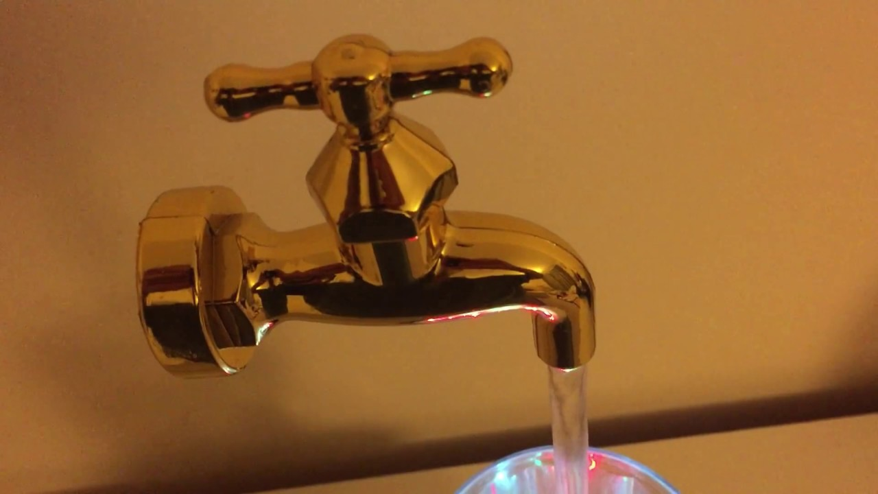 Magic Water Fountains: Floating Faucet Tap?? - YouTube