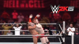 WWE 2K15 Replay: Sheamus vs. The Miz — WWE Hell in a Cell 2014 Simulation