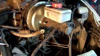 ГАЗЕЛЬ замена вакумного усилителя тормозов