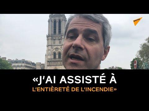 Évêque Auxiliaire Du Diocèse De Paris: «J'ai Assisté à  L'entièreté De L'incendie»