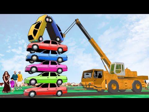 Giant Car Wall Challenge Funny Hindi Story विशाल कार दीवार की चुनौती हिंदी कहानिय Hindi Kahaniya