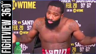 📡 Broner vs Santiago Post Fight Press Conference: Seriously, Hilariously, HONEST!