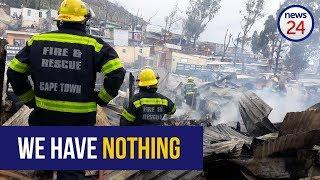 WATCH: Baby dies, scores homeless after Imizamo Yethu fire