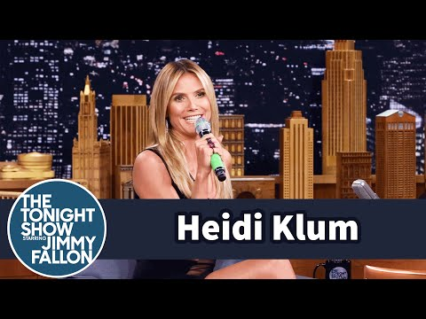 Thumbnail: Heidi Klum Yodels a German Tune