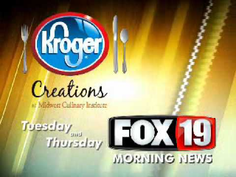 Kroger Creations at the Midwest Culinary Institute on Fox19 WXIX-TV Promo #1