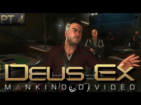 "Deus Ex: Mankind Divided Pt4 ""A Real Life Saver"" Otar Botkoveli"
