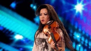 Repeat youtube video Violinist Analiza Ching - Britain's Got Talent 2012 audition - UK version