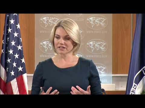 Acting Assistant Secretary Henshaw and Spokesperson Heather Nauert on Bangladesh Trip